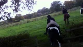 Cheshire Drag Hunt 18 Oct 2014