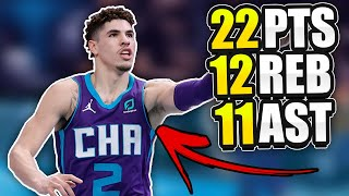 THE TRUTH ABOUT LAMELO BALL'S HISTORIC TRIPLE DOUBLE! | YOUNGEST IN NBA HISTORY!?
