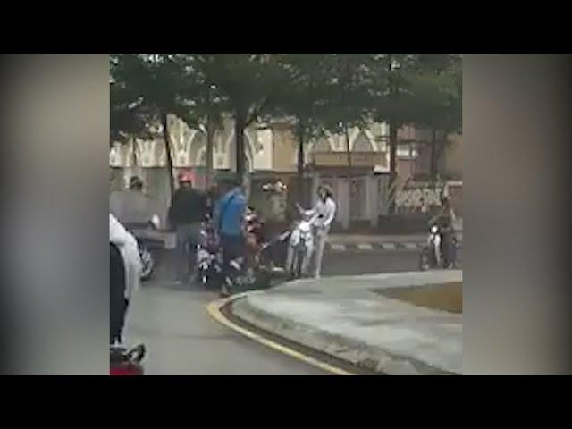 Polis siasat kes video tular libatkan dua penunggang motosikal