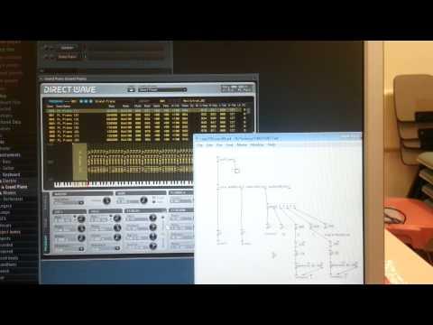 Fiducial markers drive FL Studio Test