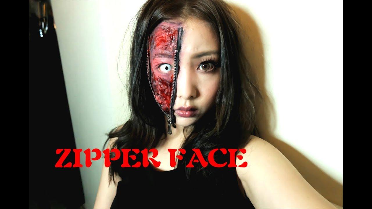 Miss Cool 箍牙妹- 偽靚鬼大作戰♡ 萬聖節特輯Zipper Face Halloween ...