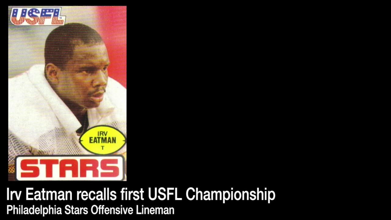 Stars offensive lineman Irv Eatman
