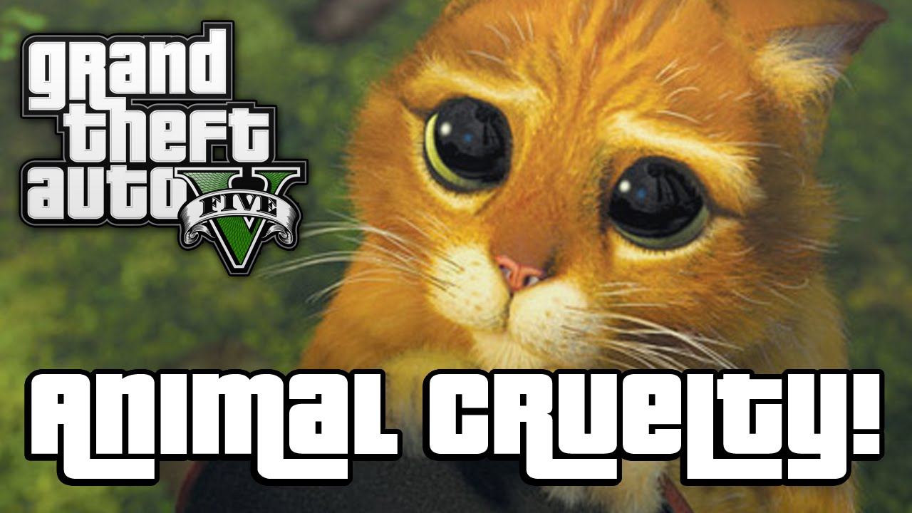gta v animal cruelty gta 5 next gen funny moments   youtube
