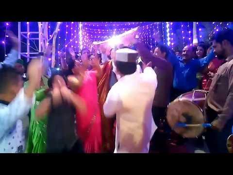 Bhai ri saliye    Jaunsari song    dance in marriage function  