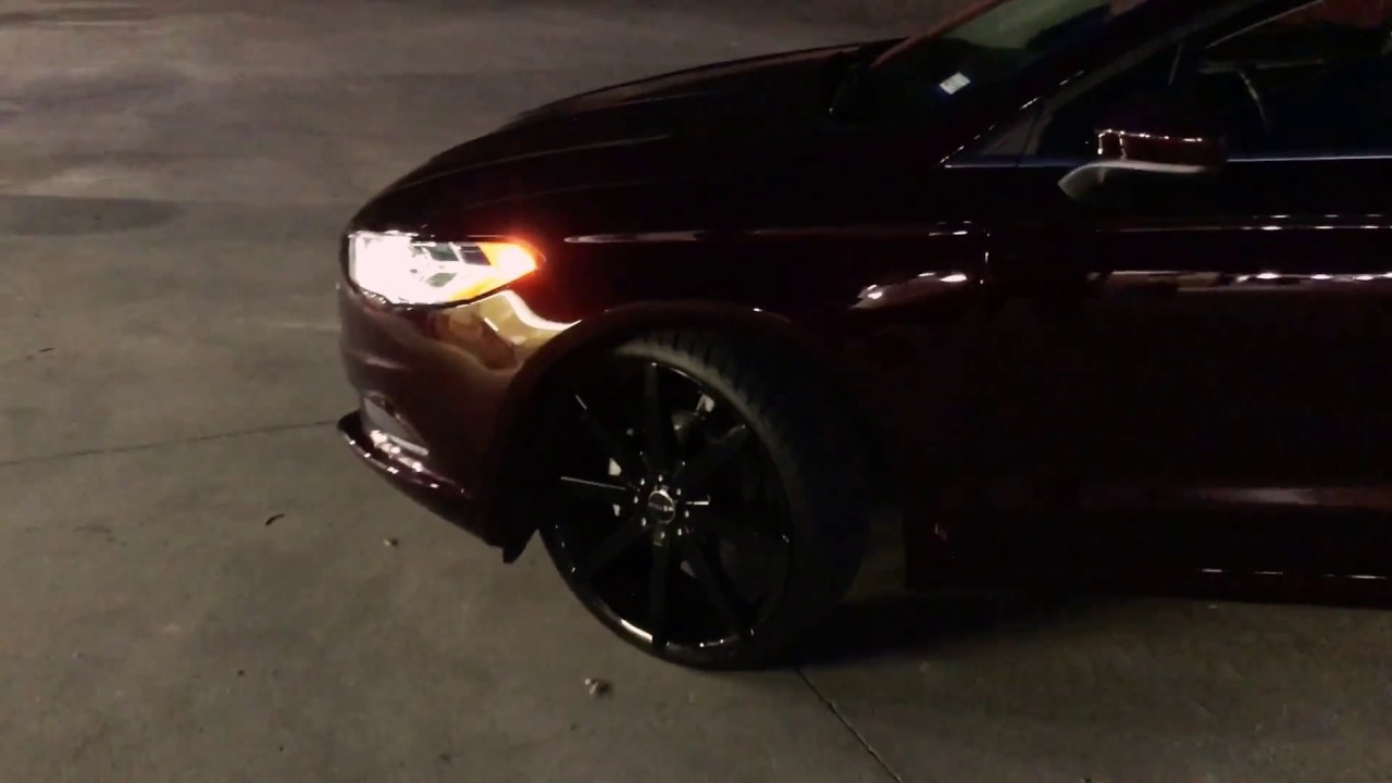 Ford Fusion On 22s >> 22s Ford Fusion 2017 Youtube