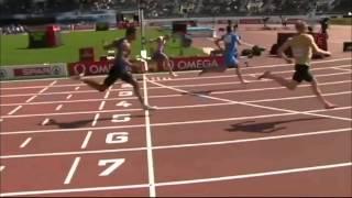 Sprinter Suffers Horrific Knee Injury