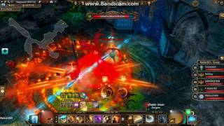Drakensang Online - HOW  to tanking Black Widow Infernal  [ With Guild ]