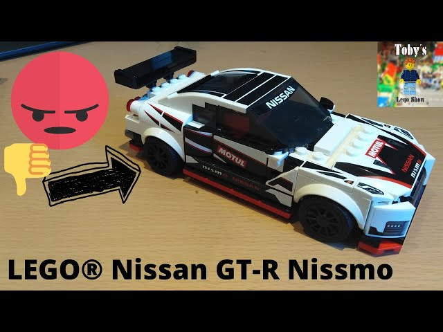 Dieses Auto ist doof. - LEGO® Speed Champions 76896 Nissan GT-R Nissmo - Review