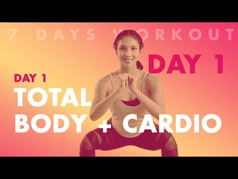 Cara Membakar Lemak Tubuh Dengan Gerakan Total Body Cardio Dalam 7 Hari   Hari Pertama