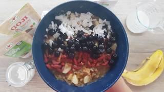 Vitalia healthy food - Снегулки од хељда со бадемово млеко (посно, vege)