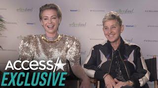 Ellen DeGeneres Gifted Portia de Rossi A Kris Jenner Inspired Silver Lamborghini!