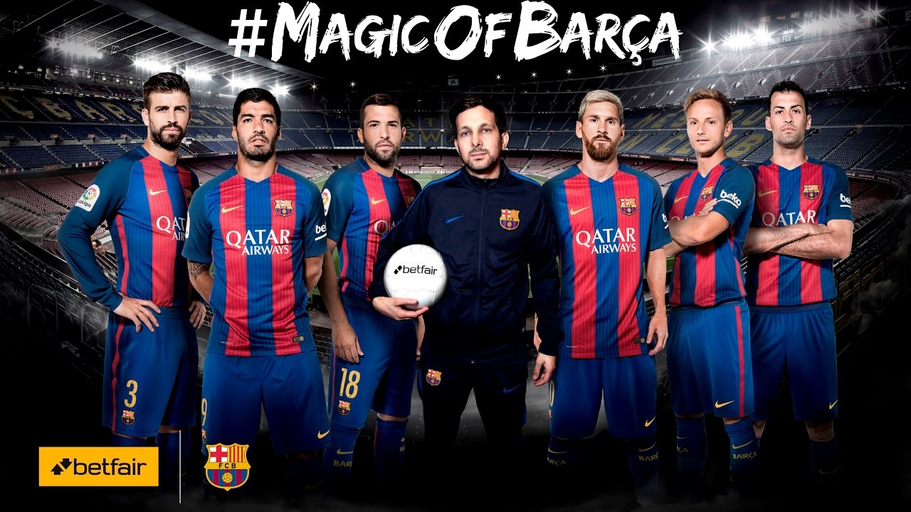 Betfair Introduces Dynamo Magic To Fc Barcelona Players Youtube