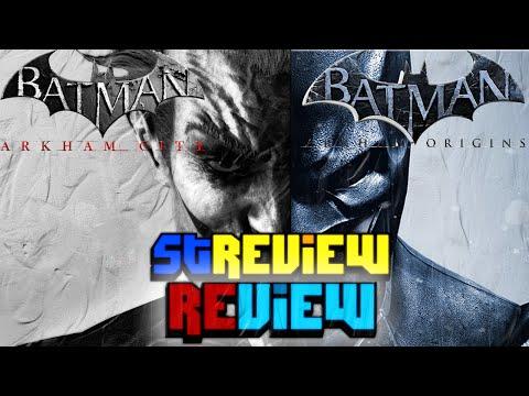 Batman Arkham City & Origins - Review - Hebrew -    & ' -