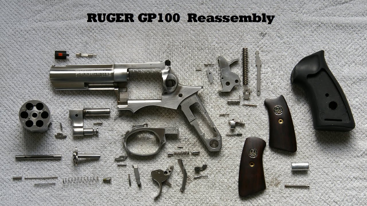 Ruger Gp100 Reassembly