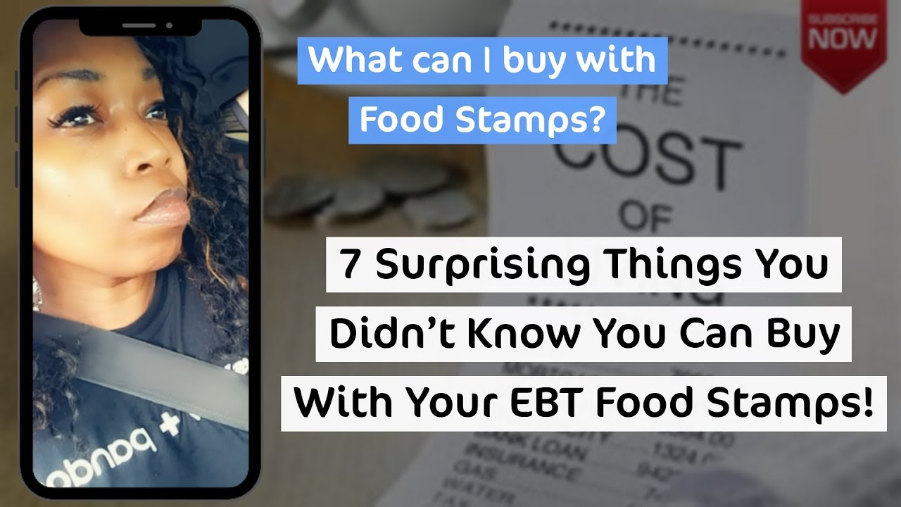 Top 7 Surprising Things You Can Buy With #EBT #FoodStamps!