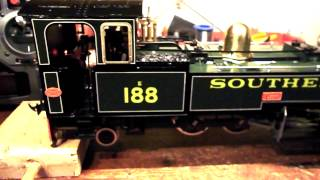 16mm Narrow Gauge Accucraft LEW RC + Light installation
