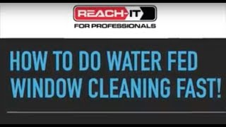 Gambar cover HOW TO CLEAN WINDOWS FASTER WITH WATER FED