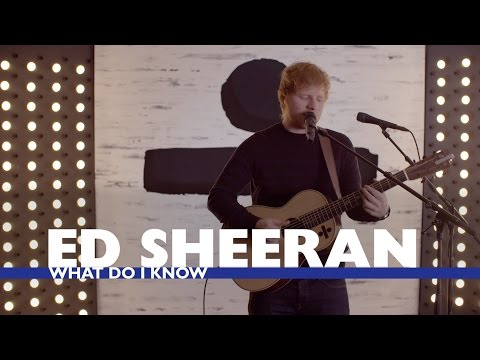 Thumbnail: Ed Sheeran - 'What Do I Know' (Capital Live Session)