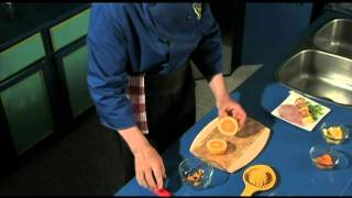 Orange Yogurt Party Dip - Quick, Easy To Make, Yogurt Fruit Dip - Ham And Fruit Kabob