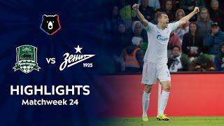 Highlights FC Krasnodar vs Zenit (2-3)