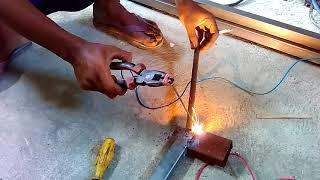 mesin las rakitan anak pemalang Vs LAKONI  #part 1