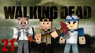Minecraft - The Walking Dead! Episode 21 (Crafting Dead Mod)