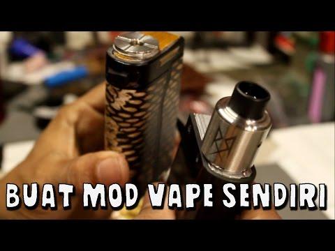 DIY MOD VAPE   Membuat Mod Vapor Acrylic - Jember Vapor (indonesia)