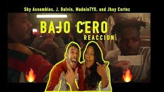 """Mi Novia Reaccion A Sky, J. Balvin, Jhay Cortez - Ft. Madeintyo """"bajo Cero"""""""