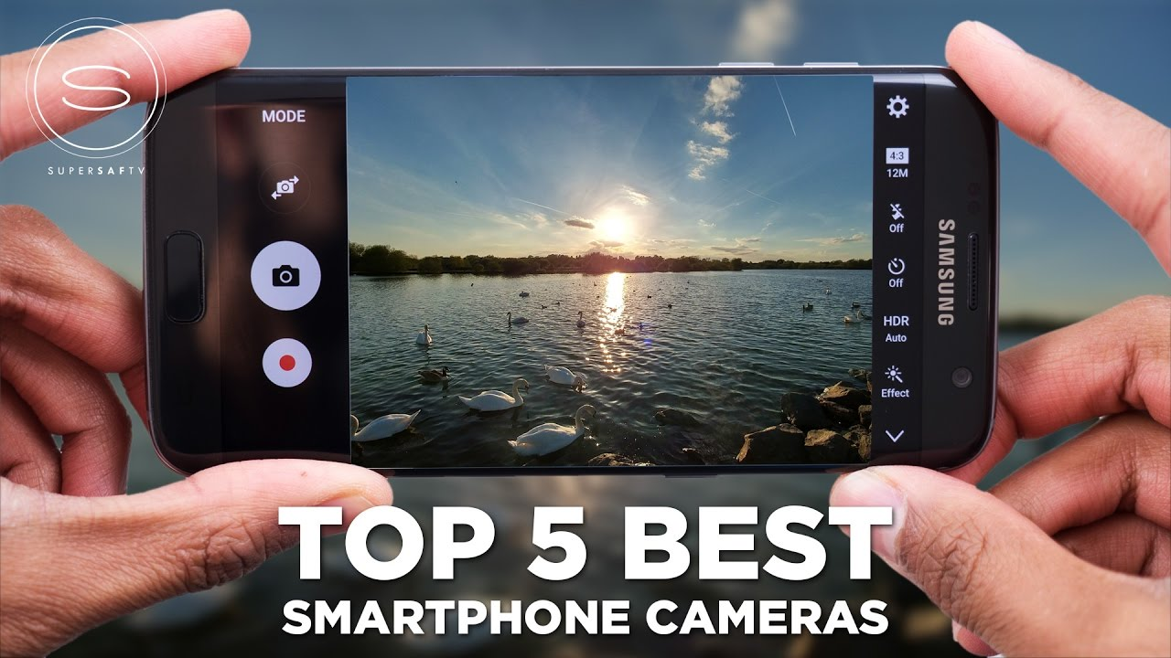 Top 5 BEST Smartphone Cameras - YouTube
