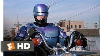 RoboCop 2 (7/11) Movie CLIP - Motorcycle vs. Truck (1990) HD