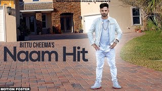Naam hit (motion poster) bittu cheema | white hill music | releasing on 7th october