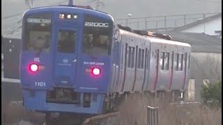 走り去るキハ200系3両編成