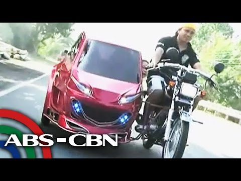 La Union's tricycle-car
