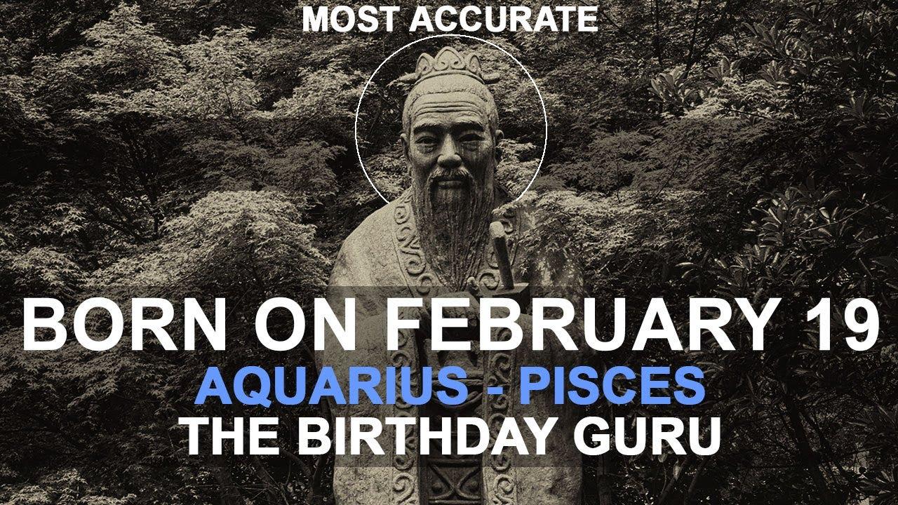 february 19 born astrology
