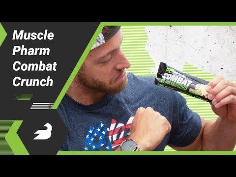 MusclePharmR Combat Crunch Protein Bar
