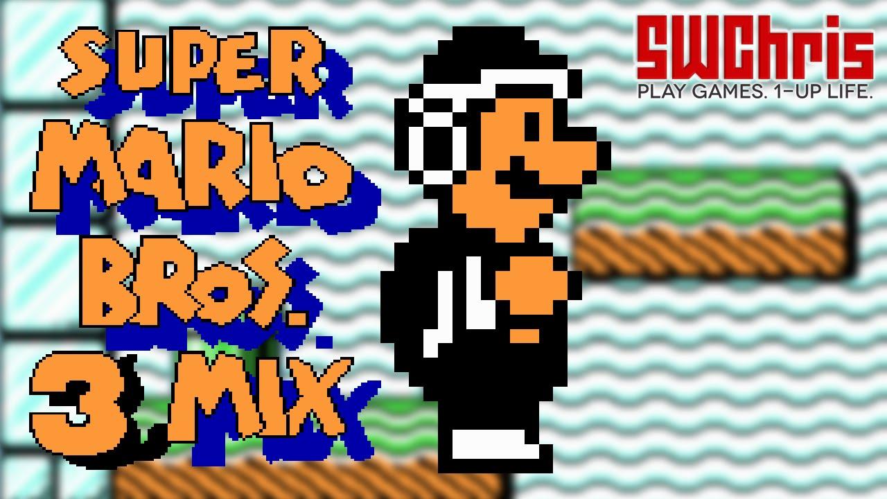Super Mario Bros 3 Mix Rom Hack World 7 6 Custom Level Youtube