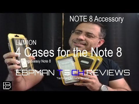Best Samsung Galaxy Note 8 Cases Wireless Charging and Fit Test from Lumion