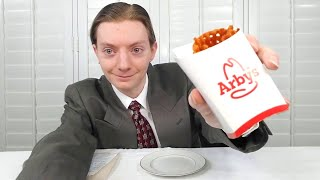 Arby's NEW Sweet Potato Waffle Fries Review!
