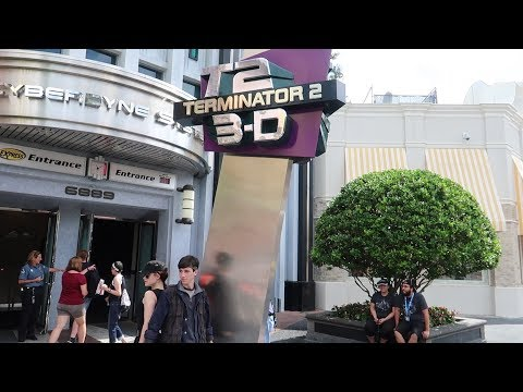Hasta La Vista Terminator T2:3D At Universal Studios Closes & The Dragon Challenge Destruction!