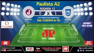 Transmissão Esportiva - Juventus X Rio Claro thumbnail