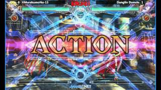 Round 1 PHM - 12/20/2015 - First North American BlazBlue: Central Fiction Tournament - Part 1