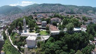Tophane ve etrafı BURSA havadan çekim 14,07,2015 بورصة تركيا مركز بورصة