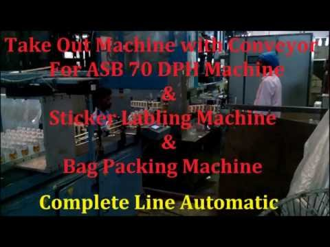 Take Out Machine for Nissei ASB Machines and Labling Machine and Bottle Bagging Machine