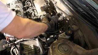 Air filter console and intake hose replace Toyota Corolla