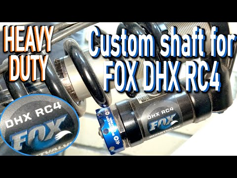 FOX DHX RC4 Diy bike shock inspection and assembly - FOX SHOX