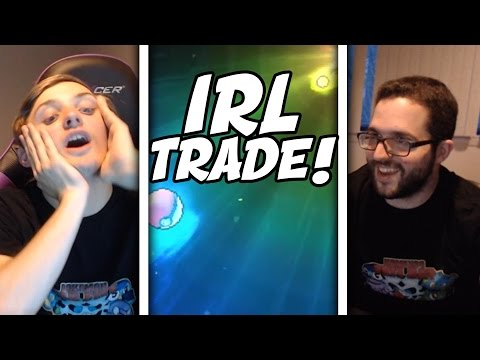 IN REAL LIFE TRADE! | Pokemon Sun and Moon Egglocke Co-Op with The4thGenGamer | #20