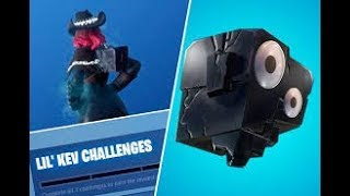 UNLOCKING LIL KEV BACKPACK!!!! FORTNITE BATTLE ROYALE // FAMILIAL FRIENDLY!