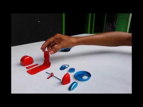 Tutorial   Cara perakitan dan Pengecatan MINIATUR VESPA dari KALENG MINUMAN  - YouTube df2dc72d63
