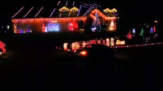 New 2012 LIGHTORAMA Musical Christmas Sequence to Rock ye Merry Gentlemen