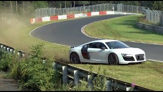 the only bad thing about the nordschleife is the black shit in the middle of the track